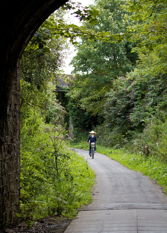 Cycling the Tarka Trail in Devon