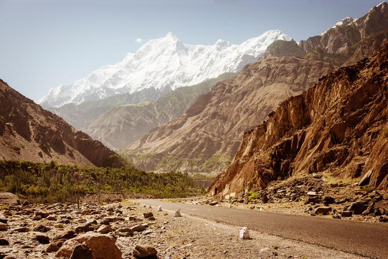 Karakoram Highway, Hunza, Pakistan.
