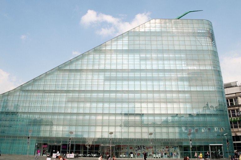 National Football Museum, Urbis building, Manchester, UK