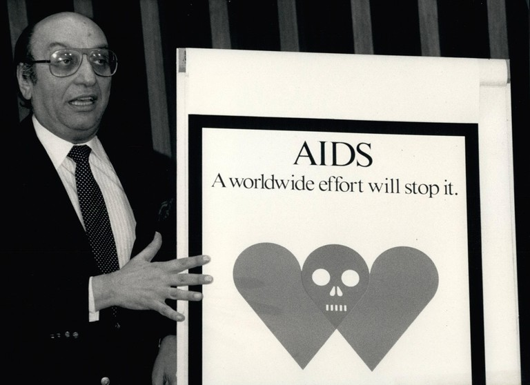 ''Aids - A worldwide effort will stop it''; On may 27th thee World Health Organization WHO launched its global campaign