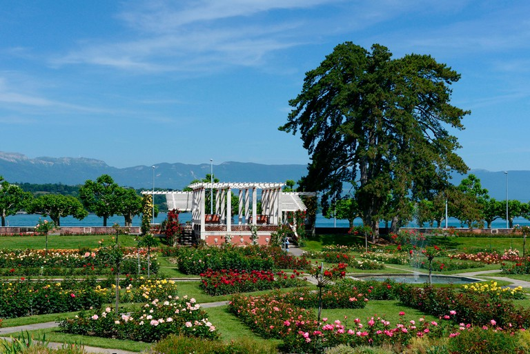Parc de la Grange, Geneva, Switzerland.