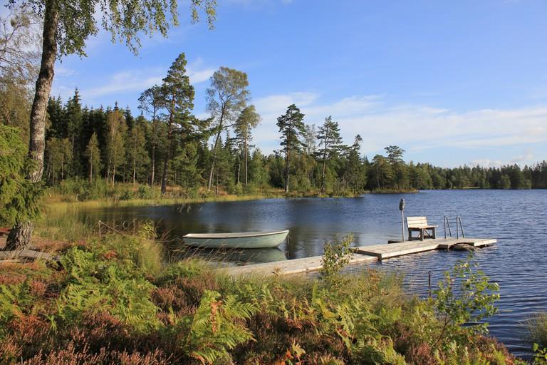 Summer day in Dalsland, Sweden.