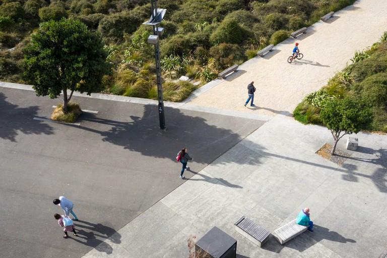 Waitangi Park in Wellington