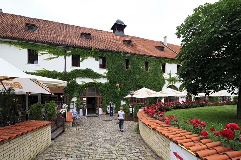 Restaurant Strahov Monastic Brewery in Prague
