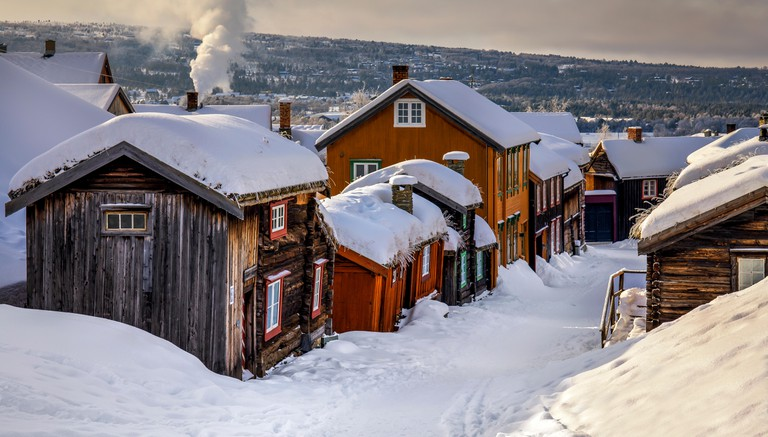 Roros is a historic former copper mining town in Norway