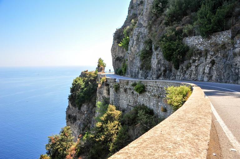 Breathtaking views along the Amalfi Coast route.