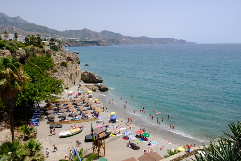 Calahonda Beach in Nerja, Axarquia, Malaga