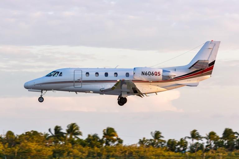 NetJets Cessna Citation airplane