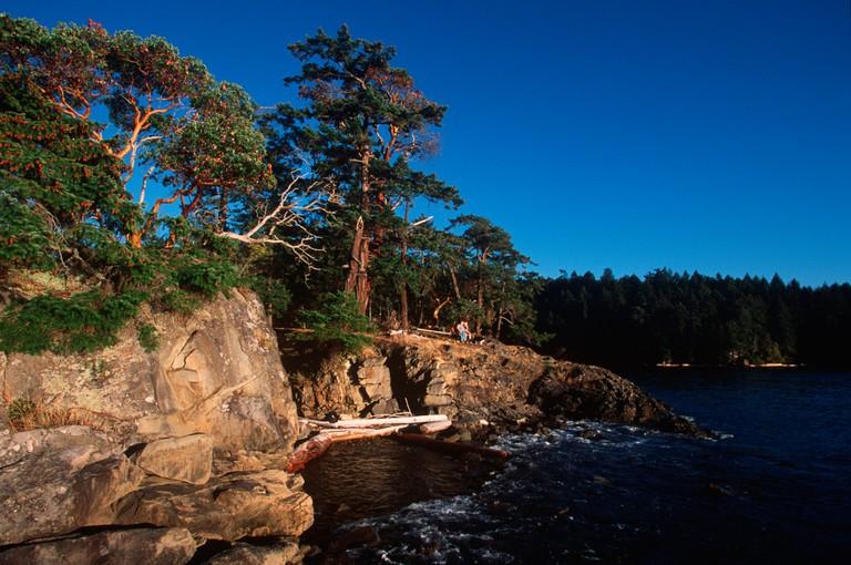 Roesland, Pender Island, Gulf Islands National Park, British Columbia, Canada.