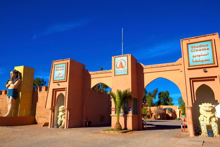 ATLAS Film Studios, Ouarzazate, Morocco, North Africa, Africa