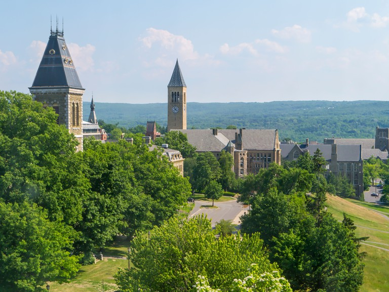 Cornell University in Ithaca New York