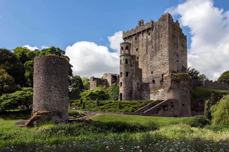 Blarney Castle is a medieval stronghold in Blarney, near Cork, Ireland.