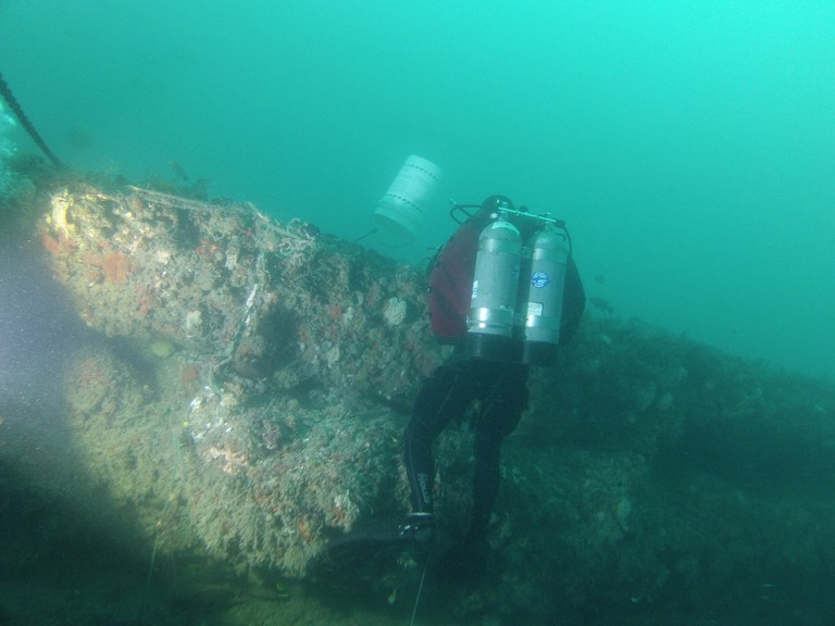 Blue Hole Amberjack Dive Nov. 18, 2018