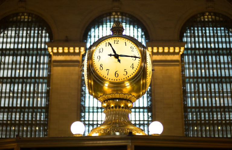 The Grand Central Terminal Clock, New York City.