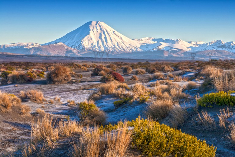Mount Ngauruhoe and the Rangipo Desert, Tongariro National Park, New Zealand