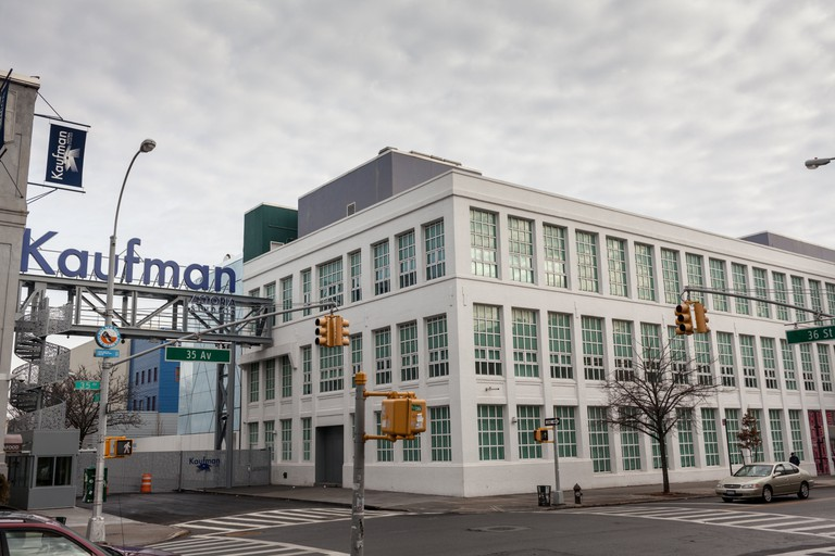 American Museum of the Moving Image, next to Kaufman Studios, biggest film studio outside Hollywood, Astoria, Queens, New York