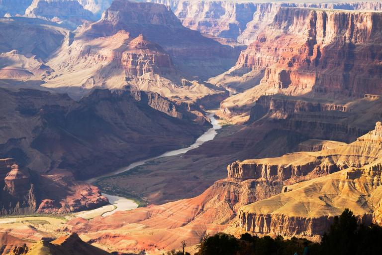 Grand Canyon and Colorado River Panorama, Arizona, USA