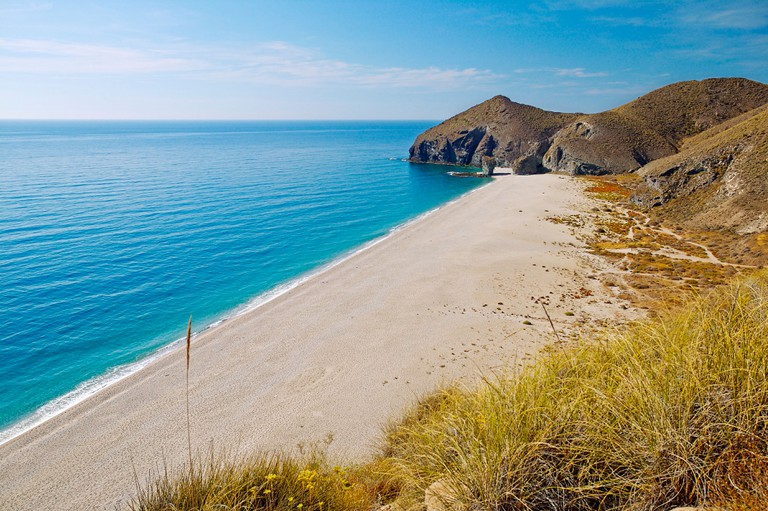 Playa de los Muertos  Cabo de Gata-Nijar Natural Park  Almeria  Andalucia  Spain