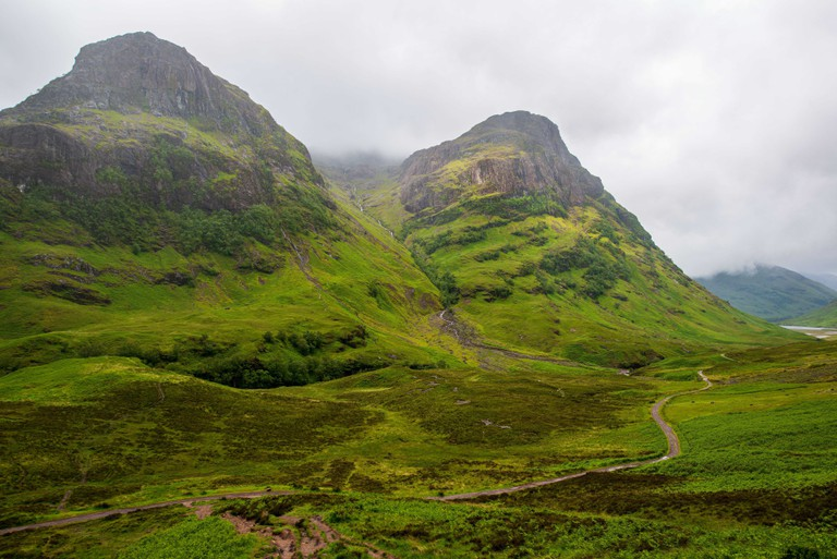 The Three Sisters in Glencoe, Scotland