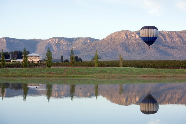 Hot air ballooning - Hunter Valley,  New South Wales  AUSTRALIA