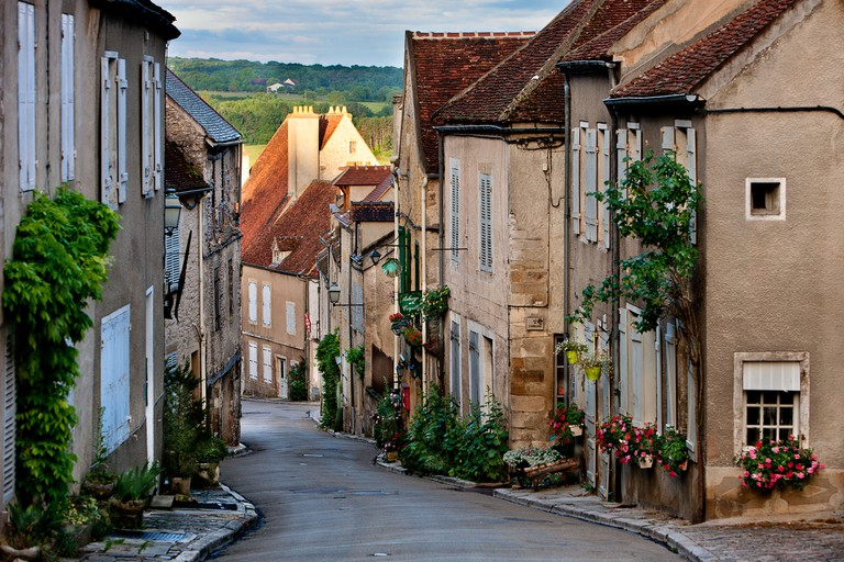 French village Vezelay, France.. Image shot 06/2010. Exact date unknown.