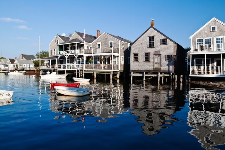 Harbour Nantucket Island Cape Cod Massachusetts USA