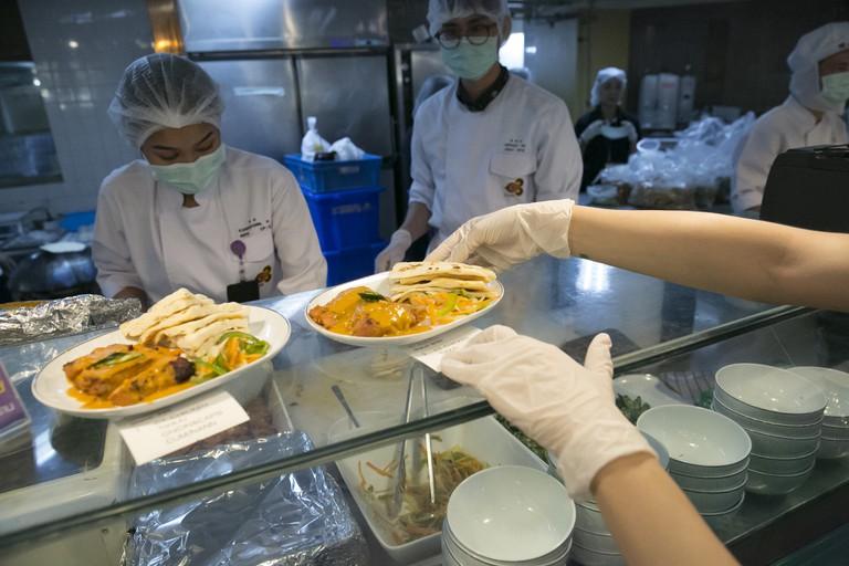 Airline Themed Restaurant Opens As Coronavirus Grounds Travelers