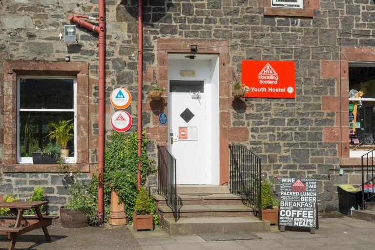 Rowardennan Youth Hostel, Loch Lomond, Scotland, UK