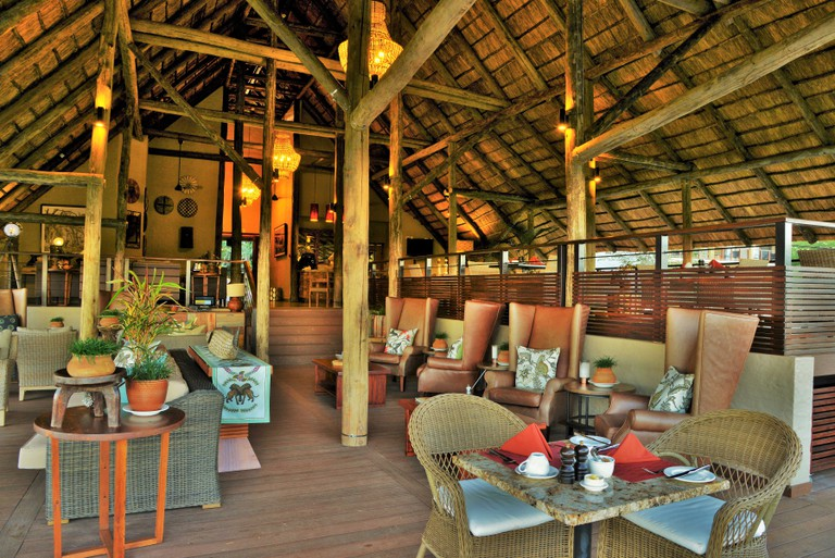 New lounge and restaurant at Victoria Falls Safari Club