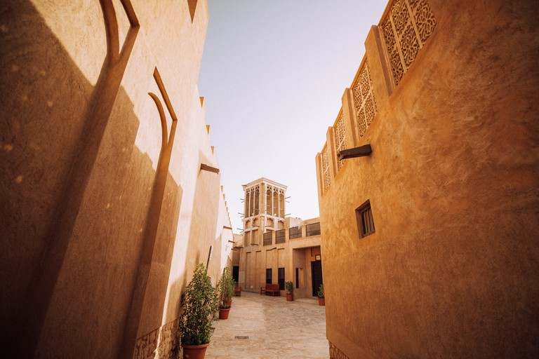 Old Dubai - Ah Fahidi District