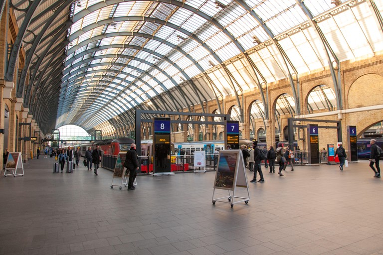 Kings Cross Station, London, England, United Kingdom.