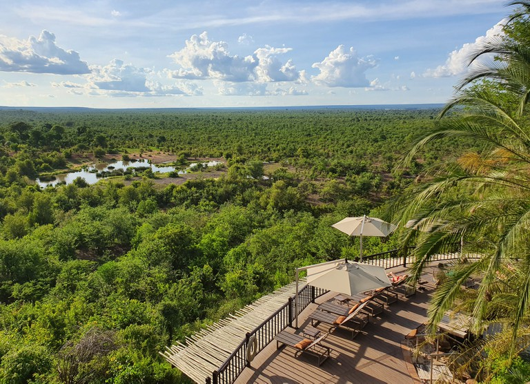 Victoria Falls Safari Lodge + watering hole (3)