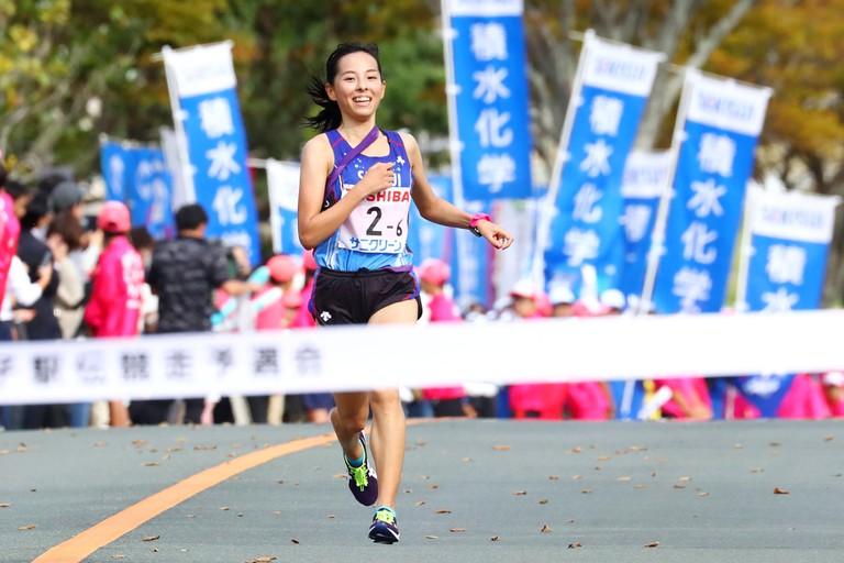 Fukuoka, Japan. 20th Oct, 2019. Chikako Mori Ekiden : The 5th All Japan Women's Industrial Ekiden Race Qualifier in Fukuoka, Japan . Credit: Naoki Nishimura/AFLO SPORT/Alamy Live News