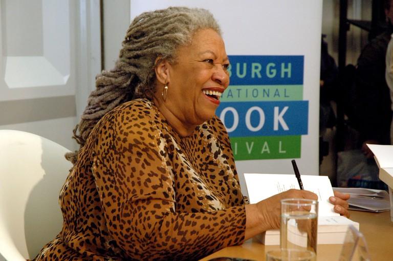 Toni Morrison Author at Edinburgh Book Festival 2005 Scotland United Kingdom. Image shot 2004. Exact date unknown.