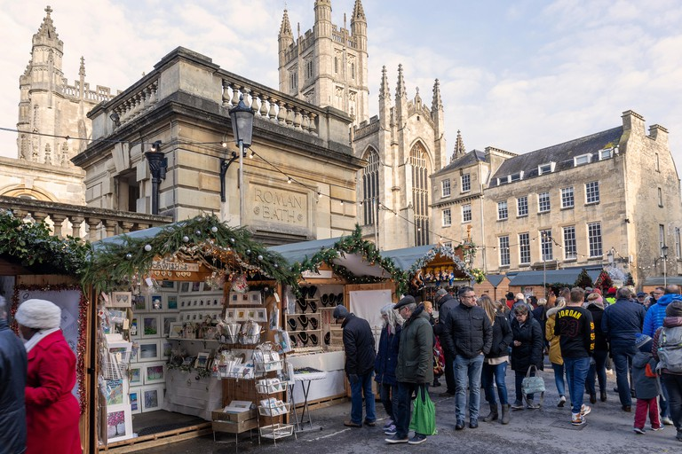 Bath Christmas Market 2018, Bath, England