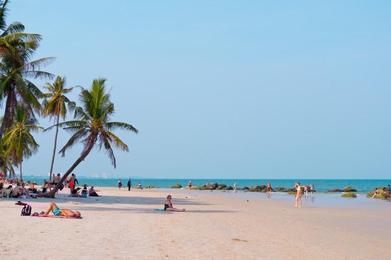 Beach, Hua Hin, Thailand