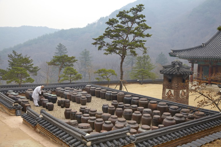 Preparing and eating Korean temple food is an important way of life for Korean Buddhist monks and nuns