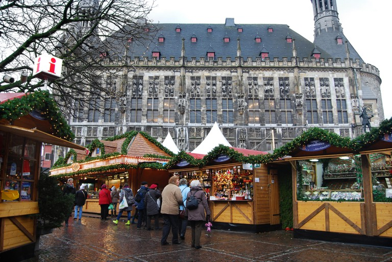 traditional Christmas fair, Aachen Germany