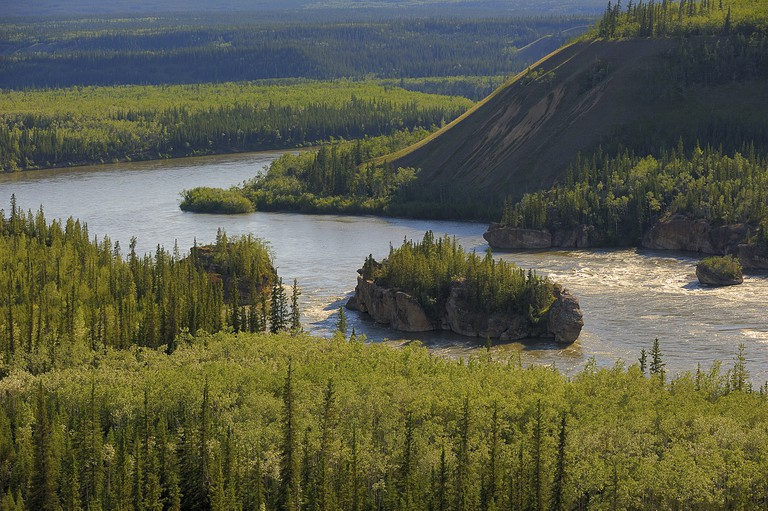 Five Finger Rapids, Yukon River, North Klondike Highway