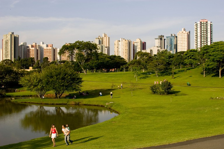 Barigui park at Curitiba. Image shot 02/2008. Exact date unknown.