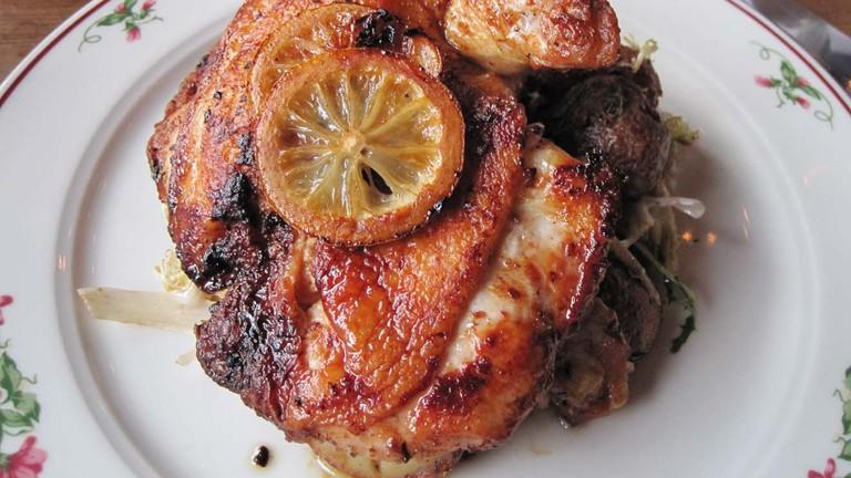 Pollo al Mattone at Gemma