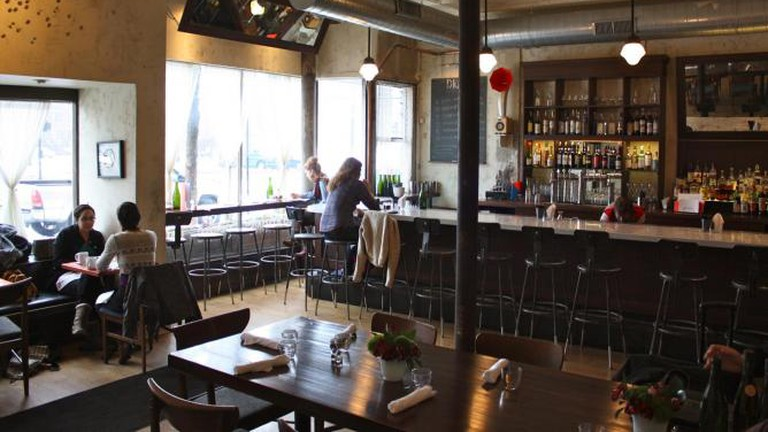 Interior of Lula Café