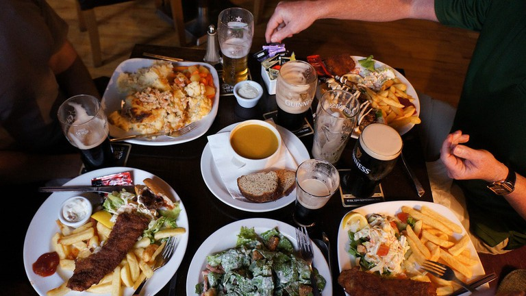 Dinner in Ireland