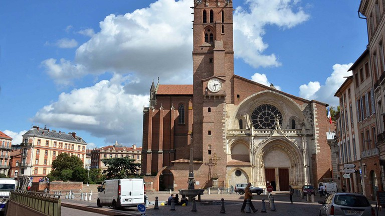 Toulouse Cathedral Saint Etienne