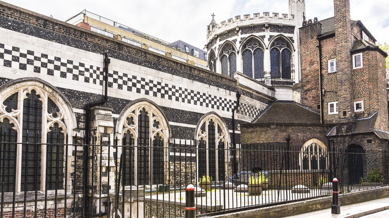 The Priory Church of St Bartholomew the Great (or Great St Barts) - Anglican church situated at West Smithfield in the City of London, UK