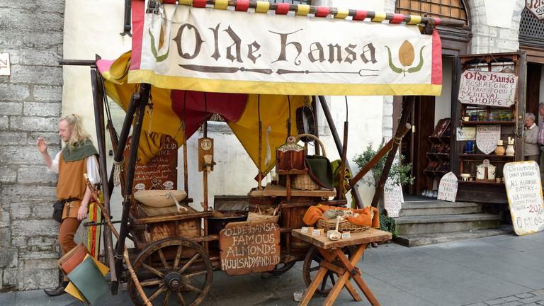 Olde Hansa taking you back to Tallinn's golden age