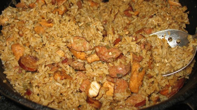 B.B.'s Lawnside BBQ serves great jambalaya