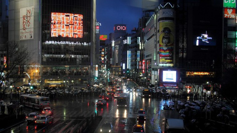 Shibuya Crossing   © Spaztacular/Flickr