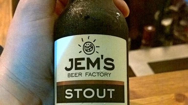 Jem;s Stout Beer