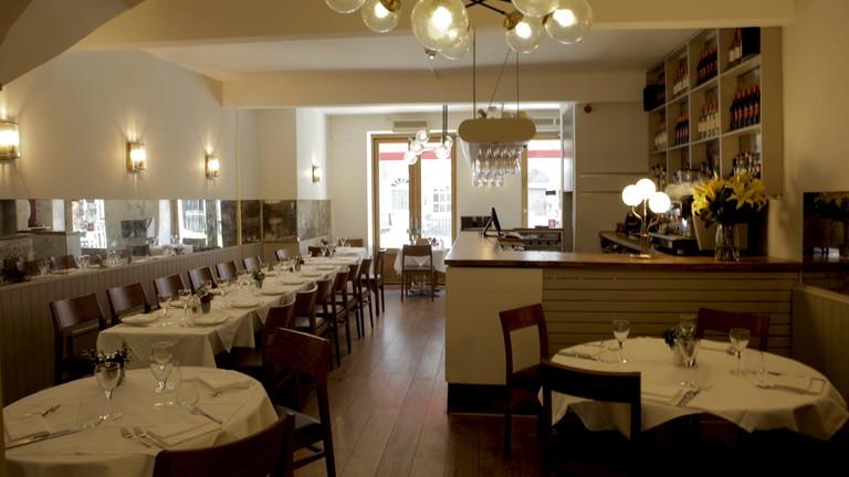 Sardo Restaurant interior | Courtesy of Sardo Restaurant